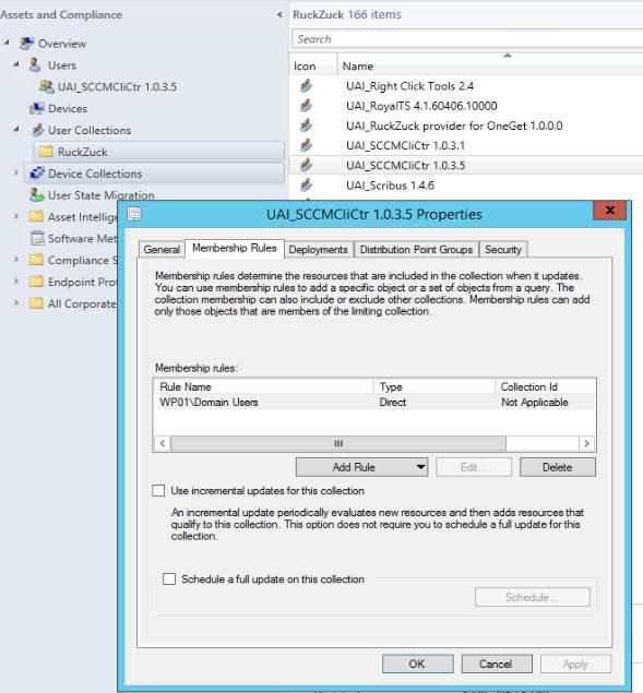 RuckZuck for ConfigMgr (New v1 5 18)