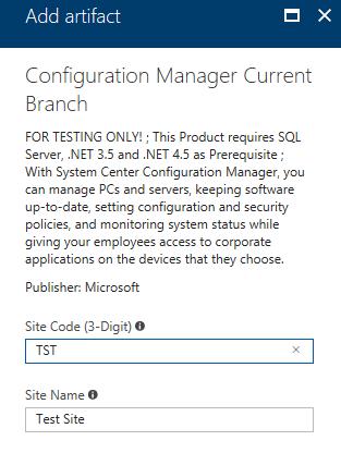 Step by Step ConfigMgr setup in Azure DevTest Labs